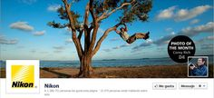 Timeline #Facebook de Nikon