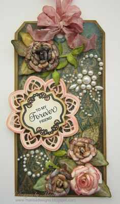 Designs by Marisa: JustRite Papercraft December Release - To my Forever Friend Tag