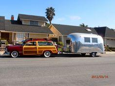 beach theme vintage 60s trailer - Google Search