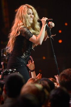 Pin for Later: Everything You Missed at the iHeartRadio Music Awards Shakira Rocked the Mic