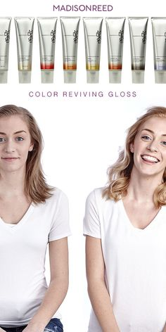 Take your hair color in the direction you want by boosting tone with Madison Reed Color Reviving Gloss. One easy application will bring back vibrancy, brightness, and depth for that fresh-from-the-salon look all over again. And since it washes out after 6-8 shampoos, there's no fear of commitment.