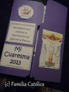 Familia Católica: Lapbook de Cuaresma 2013