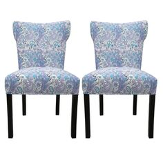 Bella Rosa Berries Upholstered Dining Chairs (Set of 2) | Overstock.com Shopping - Great Deals on Sole Designs Dining Chairs