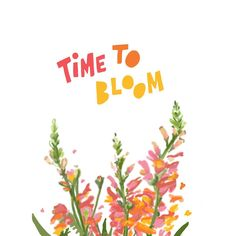 Spring is Mother Nature's way of letting us know - it's time! This is your bloomin' sign. #parscaeliwords #parscaeli_art