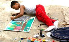 Concurso de Pintura Infantil. Fundación FLV. 2.-