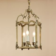 JVI Designs 944 23 Inch Tall 4 Candle Traditional Drop Ceiling Lighting - JVI-944 440