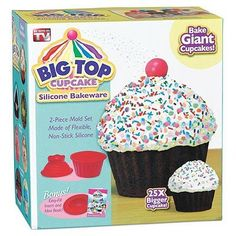 Big Top Cupcake Silicone Bakeware As Seen On Tv Boxed >>> Check out the image by visiting the link.