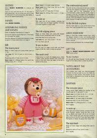 "Кукляндия: Журнал ""Ежи"" ( Knitted Hedgehogs by Jean Greenhowe) Knitting Dolls Free Patterns, Teddy Bear Knitting Pattern, Knitting Paterns, Christmas Knitting Patterns, Free Knitting, Knitted Nurse Doll, Knitted Dolls Free, Crochet Toys, Jean Greenhowe"