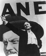 """Orson Welles as Charles Foster Kane in """"Citizen Kane"""" Director: Orson Welles. Annie Hall, Sam Cooke, Howard Hughes, Richard Gere, Clint Eastwood, Blade Runner, Old Movies, Vintage Movies, Character"""