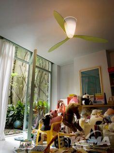 Blow wentylator Z oswietleniem zielen