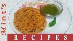 Sabut Moong Dal Ka Paratha Recipe Recipe R, Paratha Recipes, Mint Recipes, Indian Food Recipes, Ethnic Recipes, Oatmeal, Dinner Recipes, Lunch, Breakfast