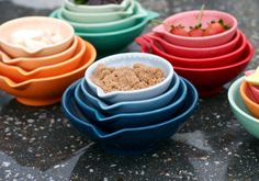 Beautiful ombre measuring cups.  For that personal touch in your kitchen.
