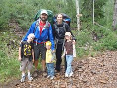 The family that hikes together…