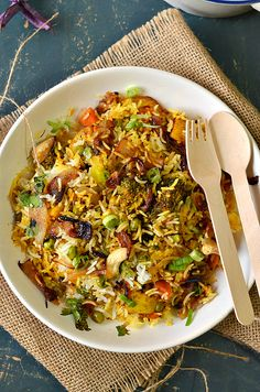 authentic Hyderabadi biryani recipe, Biryani rice, how to make vegetable biryani, veg biryani recipe, restaurant style biryani recipe, dum ki biryani, – The Veggie Indian