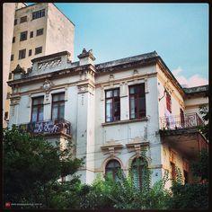 Mansion at Conselheiro Nebias street, Campos Eliseos (Sao Paulo, Brazil)