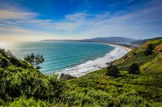 Ocean view of Stinson Beach in Marin County, CA | California HD wallpapers from Imwaytoobusy.com