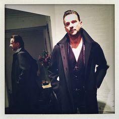 misuus:  Dave at ALASDAIR fitting for the upcoming DM tour @alasdairny