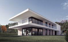Villa Acero Rosso Cadro, CH 2015, progetto Acer, Mansions, House Styles, Outdoor Decor, Villa, Home Decor, Decoration Home, Manor Houses, Room Decor
