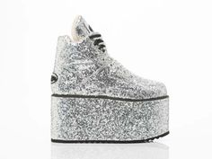 Platform - Silver Glitter // Click here to vote: http://bit.ly/1AtJPPs