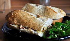 chanterelle sandwich