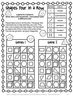 NO PREP math game from Back to School Math Games Third Grade by Games 4 Learning - 14 printable games that review a variety of second grade skills. $