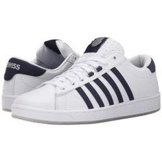 K-Swiss - Hoke CMF Ice (White/Navy/Ice) Men's Shoes