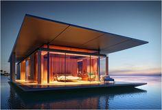 Роскошный дом на воде от архитектора Dymitr Malcew