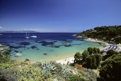 Cannelle Beach, Giglio island, Silver Coast, Maremma, Tuscany, Italy