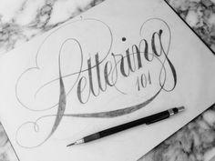 Lettering 101 by Drew Melton