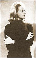Honor Blackman as Cathy Gayle in The Avengers