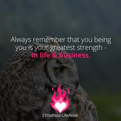 How can you bring forward more of the essence of you daily? Business Coaching, Always Remember, Motivate Yourself, Motivational Quotes, Bring It On, Books, Inspiration, Life, Animals