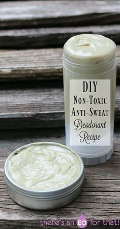 DIY Non-Toxic Anti-Sweat Deodorant Recipe