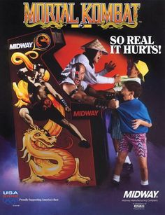 Mortal Kombat ~ I am surprised I got anything done as a kid, I played this game constantly.