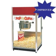 Gold Medal 6 Oz Ultra 60 Special Popcorn Popper Machine 2656, excellent popcorn machine for home or business