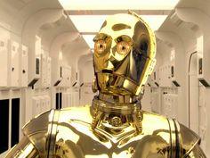 Golden Droid #c-3po #c3po #star #wars