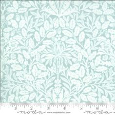 Light Blue Tonal Floral Damask Fabric, 18701 17, Moda Dover Acorn Damask Mist, Blue Quilting Cotton, Brenda Riddle, One 1 Yard Cut Bty by Jambearies on Etsy Contemporary Quilts, Art Gallery Fabrics, Fabulous Fabrics, Fabric Online, Fabric Art, Damask, Fiber Art, My Etsy Shop, Tapestry
