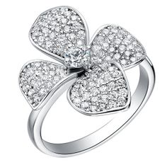 Rings for Women Promise Rings Flower shape by UloveFashionJewelry, $11.25