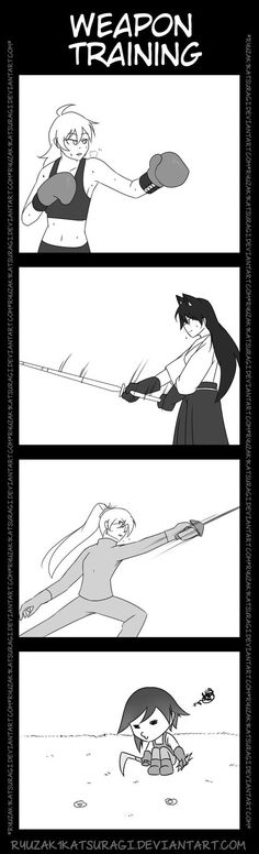 [RWBY] Weapon Training