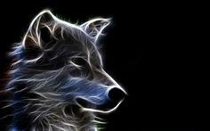 3D Wolf Animal Wallpaper