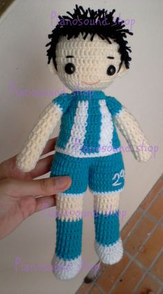 Little football player  Made for my customer @Peter Doherty.com/pianosound