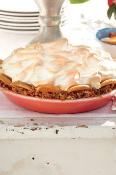 Classic Church Supper Recipes: Butterscotch Banana Pudding Pie