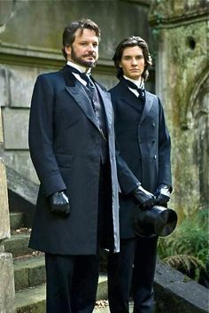 Two dandies: Colin Firth as Lord Henry Wotton and Ben Barnes as Dorian Gray