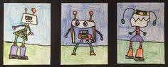 First Grade Robots