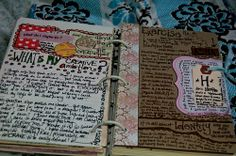 LOVE THIS. my sixth grade boy crazy journal looks something like this..