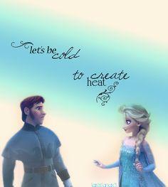 Hans x Elsa Elsa And Hans, Prince Hans, Queen Elsa, Jelsa, Disney Frozen, Otp, Singing, Romance, Fire