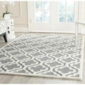 Safavieh Handmade Moroccan Cambridge Silver/ Ivory Wool Rug x Nail Swag, Moroccan Decor, Bedding Shop, Flooring Ideas, Bed Furniture, Wool Rug, Online Shopping, Electronics, Rugs