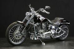 Harley Davidson 2013 CVO BREAK-OUT!! #harleydavidsonbreakoutbobber #harleydavidsonsoftailbreakout