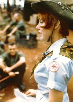 US Army nurse Janet Small Woods, Vietnam