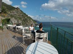 Vernazza, Gianni Franzi's Deck, the best place ever for aperitif and wine tastings!