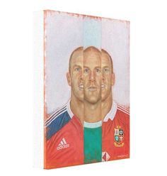 Paul O'Connell In III - 20 x 16 inches limited edition canvas prints available here https://markbakerart.com/collections/art-prints/products/brian-odriscoll-in-iii-canvas-print?utm_content=buffer95c0f&utm_medium=social&utm_source=pinterest.com&utm_campaign=buffer